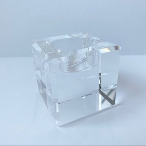The Palm Restaurant Crystal Candle Votive